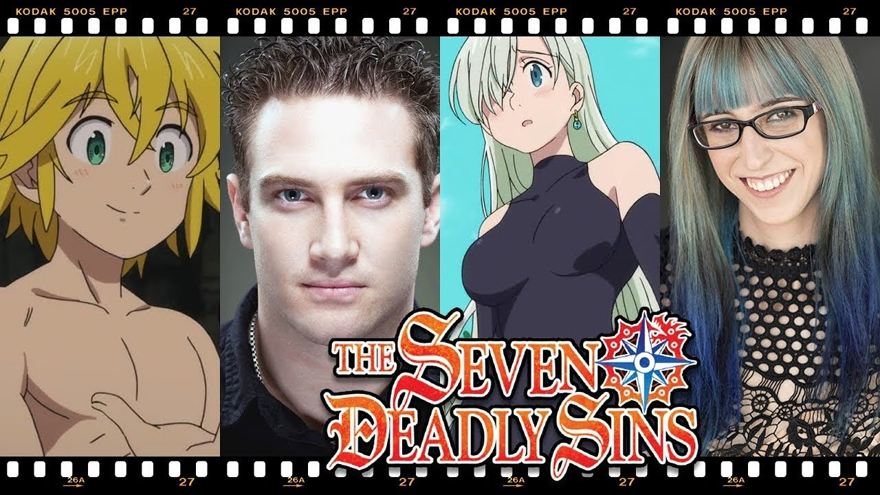 The Seven Deadly Sins Nanatsu No Taizai Behind The Voices Youtube
