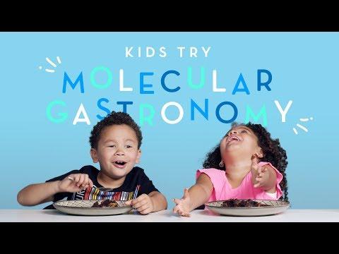 Kids Try Molecular Gastronomy   Kids Try   HiHo Kids