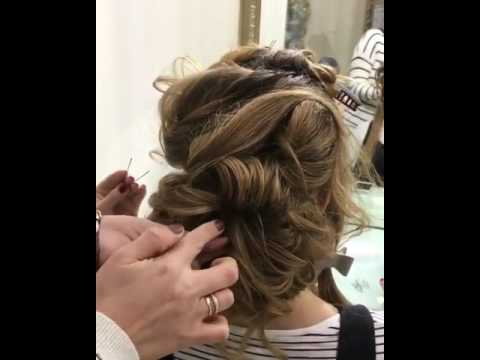 1 Minute Elegant SIDE BUN Hairstyle ★ EASY Summer Updo HAIRSTYLES