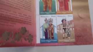 MALAYSIA 2009 Traditional Wedding Costumes booklet