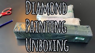 Diamond Painting unboxing AliExpress