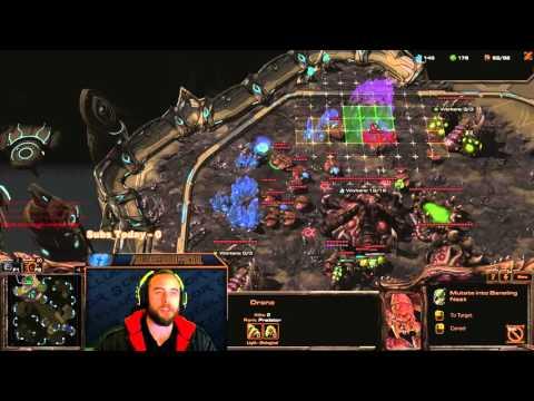 BajheeraSC - Silver ZvT: Ling/Bane/Roach vs MMM Battle! - Starcraft 2 LotV Gameplay