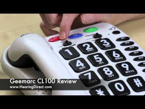 Geemarc CL100 Review By HearingDirect.com