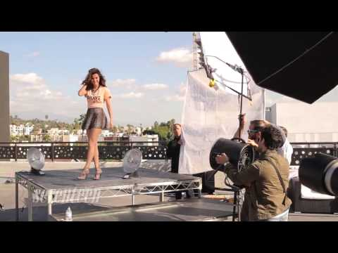 Selena Gomez   Seventeen Magazine Photoshoot Behind The Scenes