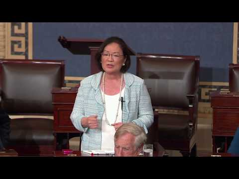 Hirono to GOP senators: 'Where is the care that you showed me when I was diagnosed with my illness?'