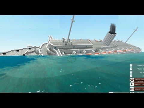 From the Depths, Sinking the Wilhelm Gustloff! (Minecraft Design)