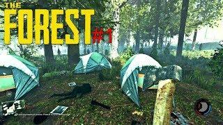 THE FOREST - A PRIMEIRA NOITE NA SELVA, ASSUSTADOR #01