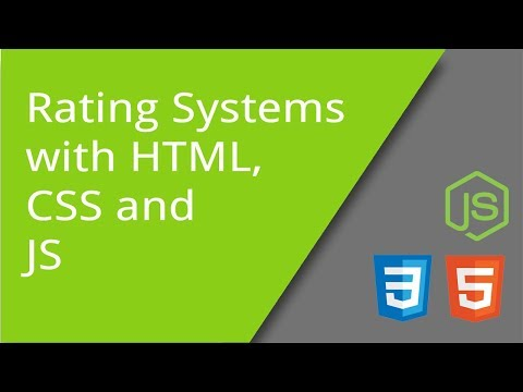 Rating Systems In HTML, CSS, And JS