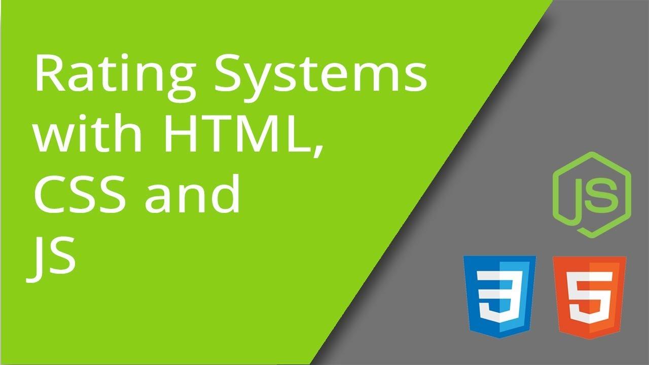 Create Interesting Ratings App Using HTML, CSS, & JavaScript
