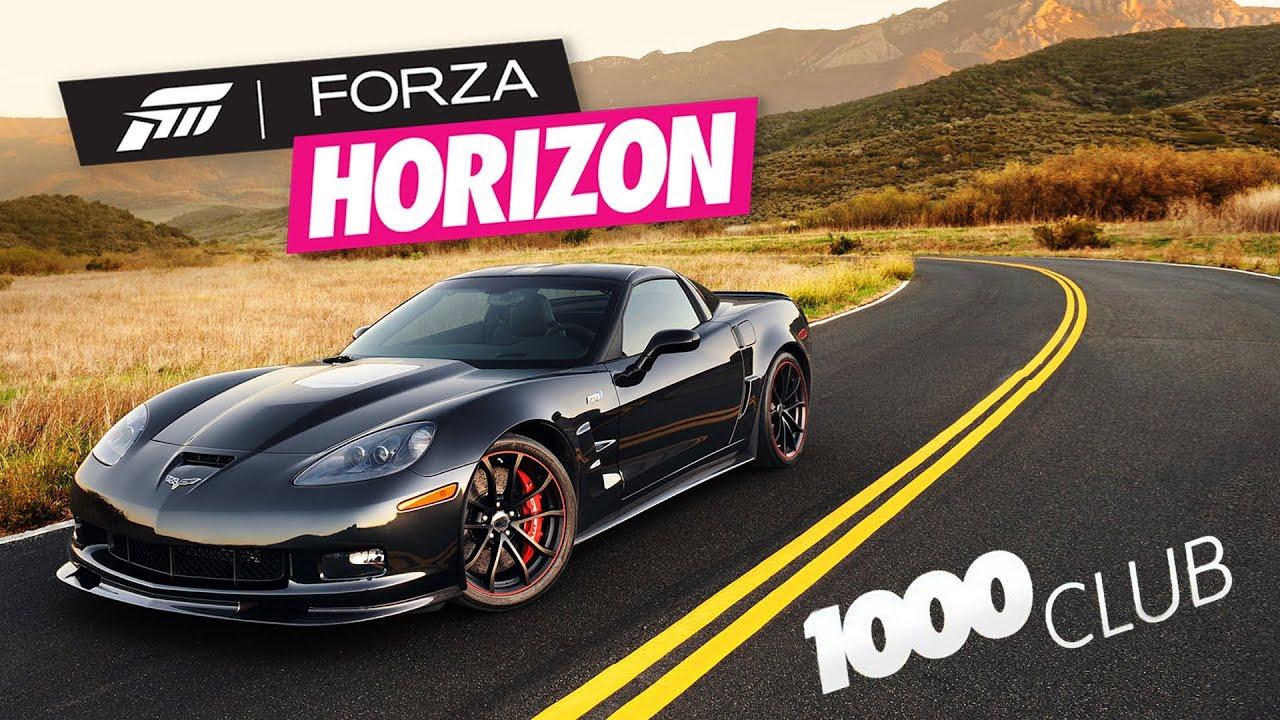25 Forza Horizon 1000 Club Chevrolet Corvette C6 ZR1 PL