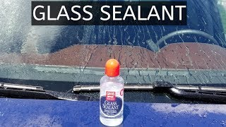 Griot's Garage Glass Sealant.  How to use / how to apply and results