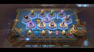 point 100% bertahan sampe akhir dan winner - MAGIC CHESS MOBILE LEGENDS INDONESIA