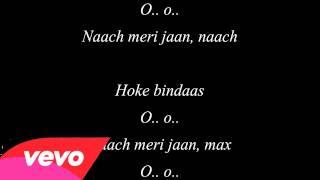 Naach Meri Jaan Naach ABCD 2 Lyrics