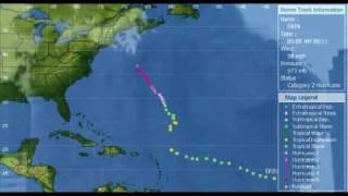 Path Of Hurricane Erin September 2001 9/11 Coincidence(?)