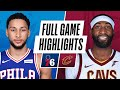 76ERS at CAVALIERS | FULL GAME HIGHLIGHTS | December 27, 2020