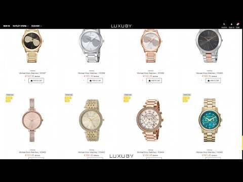 Designer Watches Online Outlet Store On Sale 70% Off | Collection 01-2020 | Watches Outlet | LUXUBY