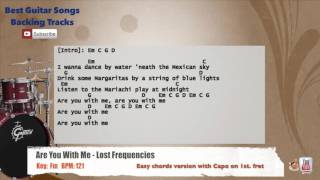 Are You With Me - Lost Frequencies Drums Backing Track with chords and lyrics