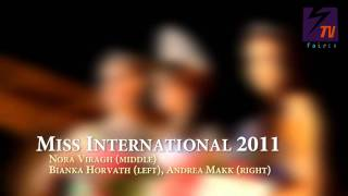 Miss International Hungary 2011 - Finals 13th August 2011