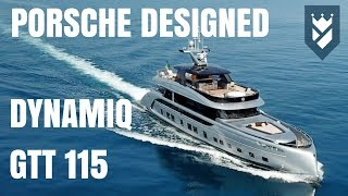 PORSCHE DESIGN DYNAMIQ GTT 115 SUPERYACHT - WALK THROUGH TOUR
