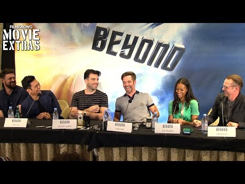 Star Trek Beyond complete press conference with cast, writer