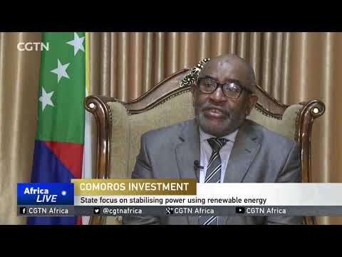 Comoros looks to end poverty, boost investment