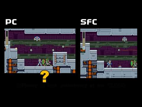 RMMH-ROCKMAN X : PC VS SFC(excerpt)