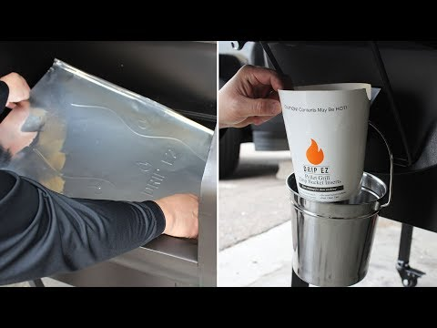 Green Mountain Pellet Grills |  Drip EZ Bucket & Grease Tray Liners