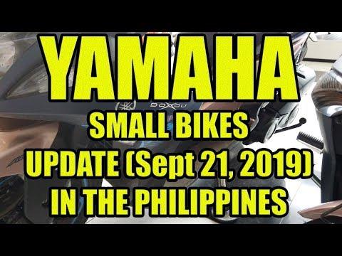 Yamaha Small Bikes Price Update In The Philippines.