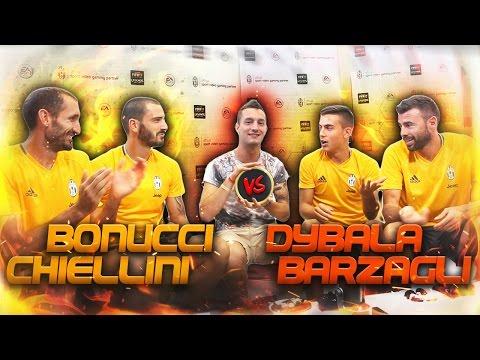 DYBALA & BARZAGLI vs CHIELLINI & BONUCCI - FIFA 17