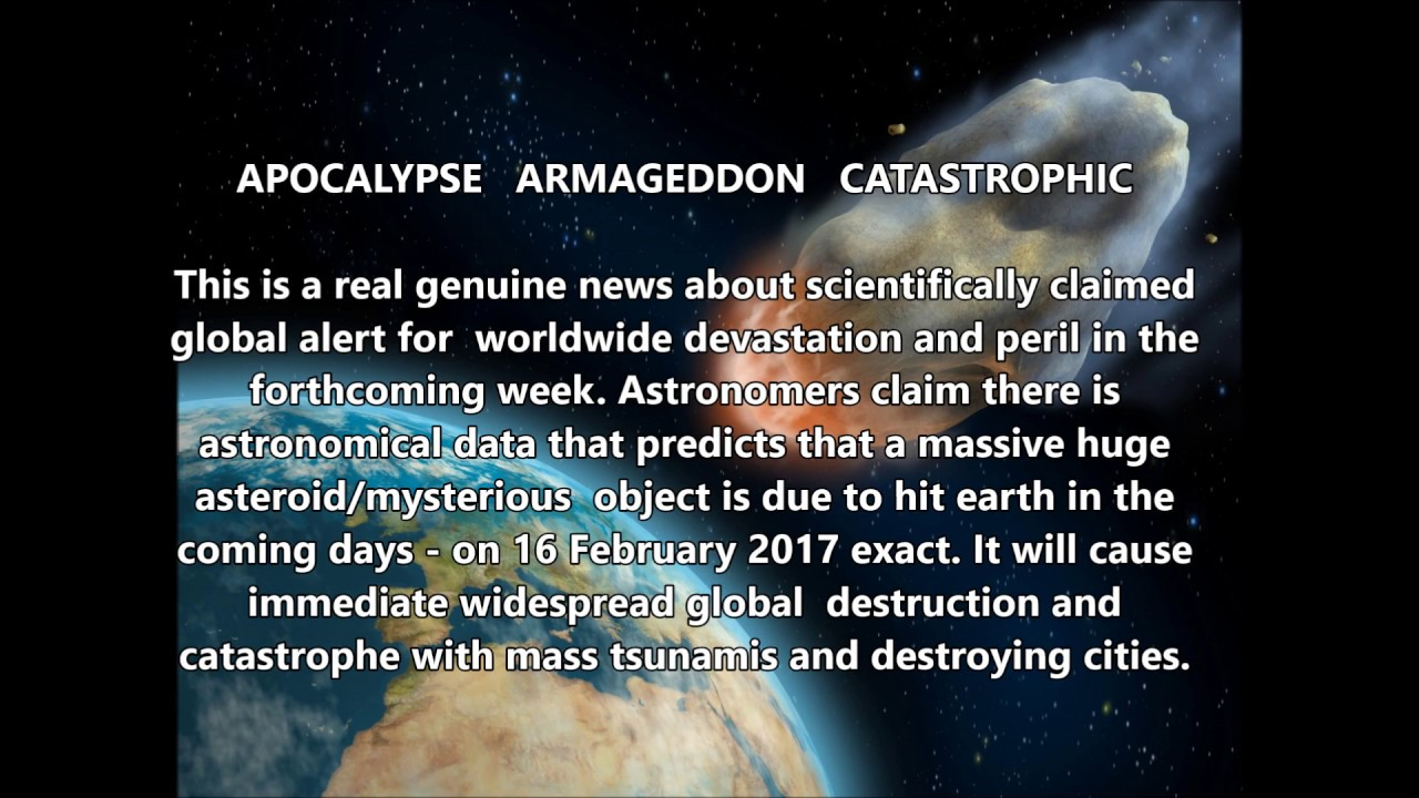 MASSIVE ASTEROID TO HIT EARTH CAUSING GLOBAL PERIL NEXT ...