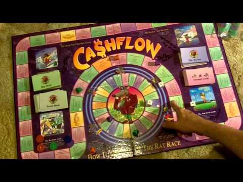 Rich Dad Poor Dad Cashflow Game Primer-How to Play Cashflow 101