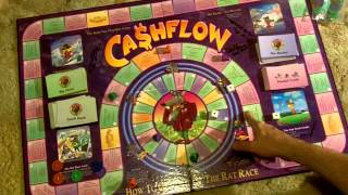 Rich Dad Poor Dad Cashflow Game Primer-How to Play Cashflow 101