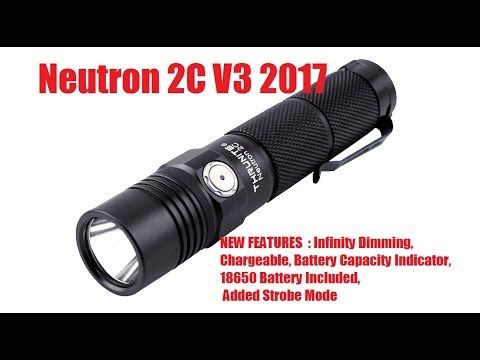 ThruNite Neutron 2C V3 2017 Review
