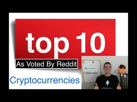 Top 10 Coins For 2018 As Voted By Reddit