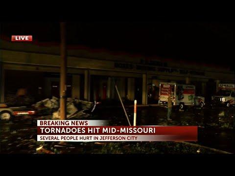'Violent tornado' in
