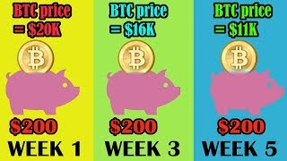What if you bought BITCOIN EVERY 2 WEEKS from ALL TIME HIGH? Dollar cost averaging Bitcoin explained