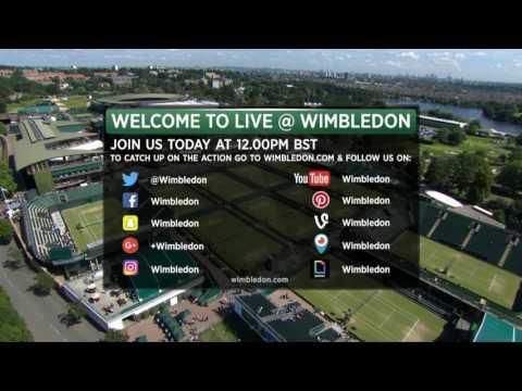 LIVE@Wimbledon Day 8