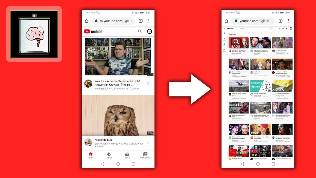 Youtube Profilbild ändern Handy