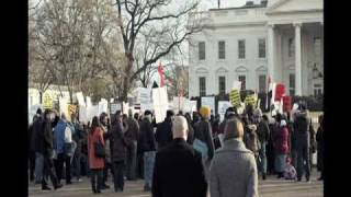 Egypt in Crisis: Egyptian Solidarity March outside White House