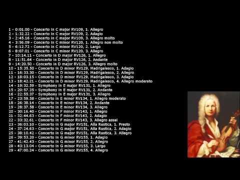 Antonio Vivaldi - Concertos and Symphonies for Strings Part 1