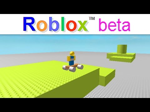 THE FIRST GAME EVER MADE IN ROBLOX