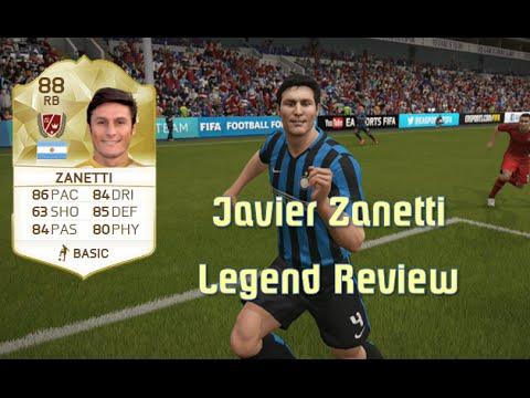 FIFA 16 - Javier Zanetti - Legend Review