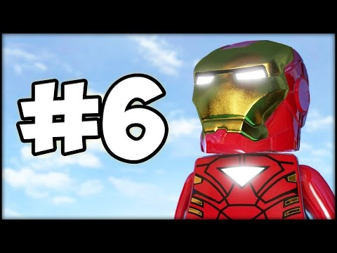 LEGO MARVEL'S AVENGERS - Part 6 - He is Always Angry!