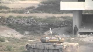 Soldado herido  en Darayya