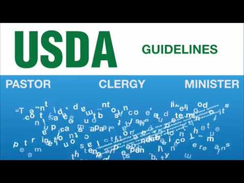 How do pastors, clergy, or ministers qualify for a USDA loan? | USDA