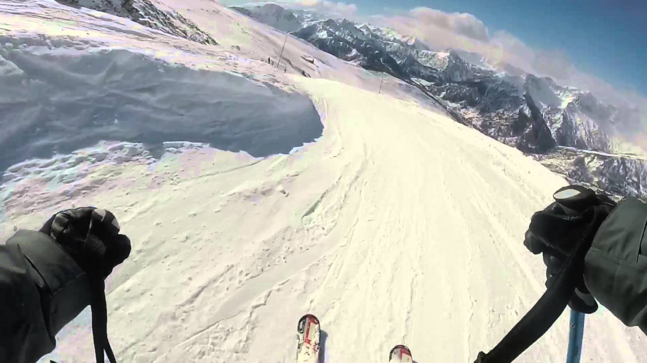 Bardonecchia skiing 2016 edit