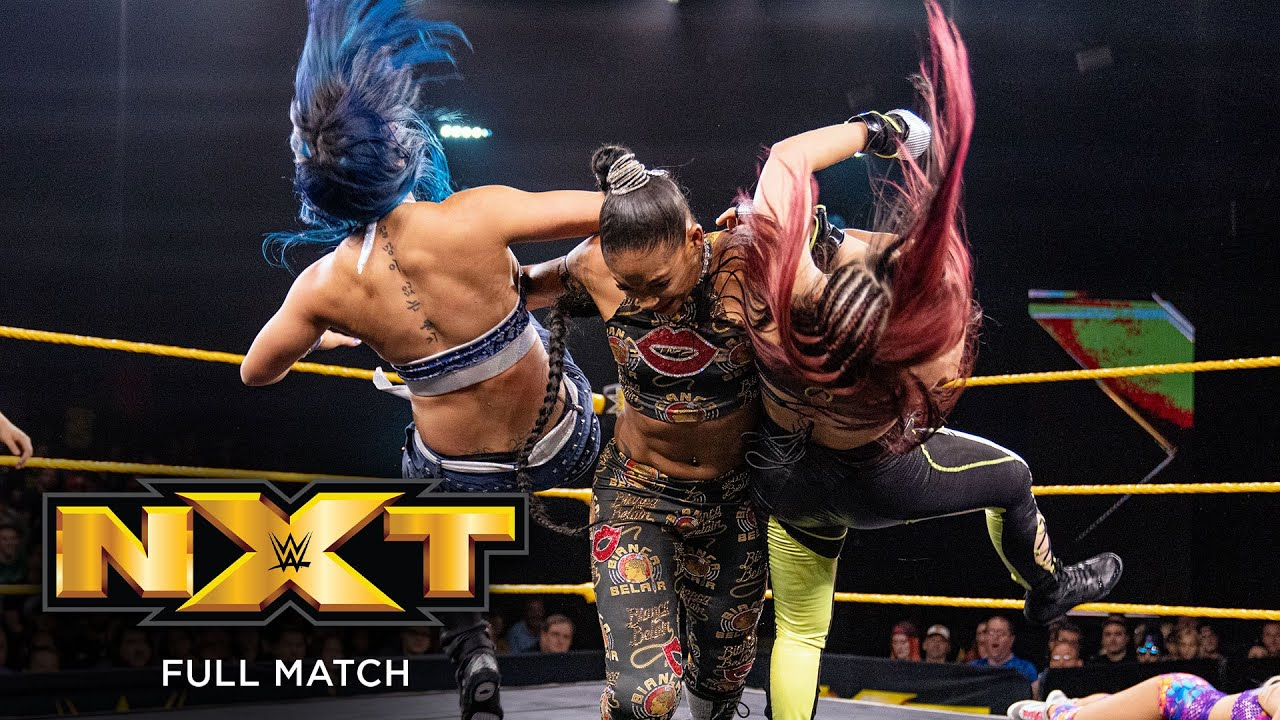 FULL MATCH - LeRae vs. Shirai vs. Yim vs. Belair – Fatal 4-Way Match: NXT, Sept. 18, 2019