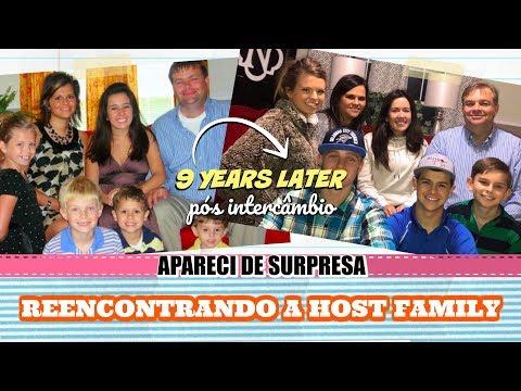 REENCONTRANDO A HOST FAMILY 9 ANOS DEPOIS DO INTERCÂMBIO