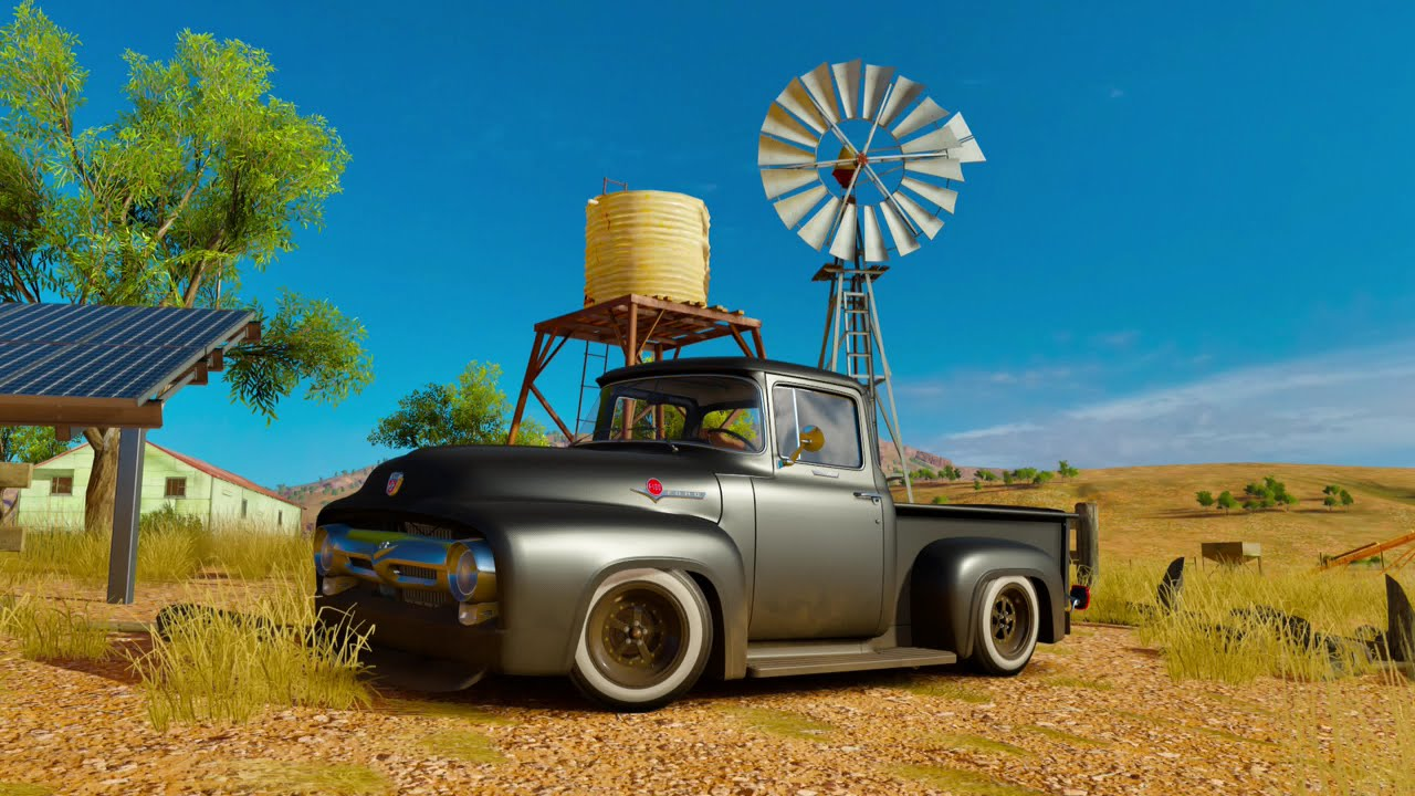 Forza Horizon 3 1956 Ford F 100 Rat Rod Farm Truck Youtube 1955 F100