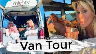 Solo Female Van Life | Van Tour | Day One